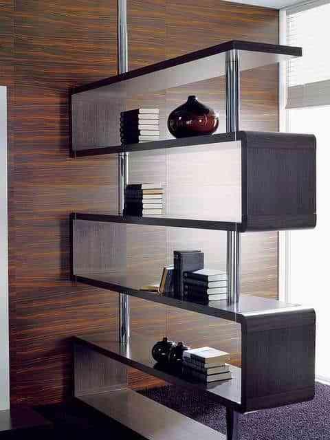 este otro mueble modular de baximoduls ofrece una estupenda opcin de decoracin funcionando como separador de ambientes - Separadores De Ambiente