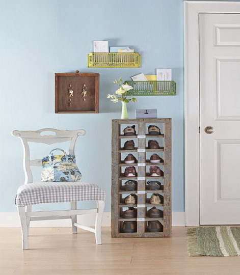Zapateros que decoran decoraci n de interiores opendeco - Ideas para zapateros ...