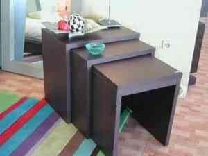 Matrioskas en el salón: mesas nido 2