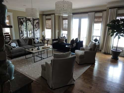 Erika Bonnell, Inc. modern family room