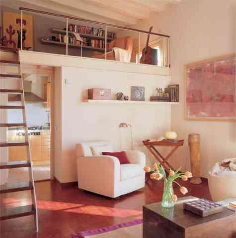 Dormitorios en dos alturas decoraci n de interiores for Decoracion de piezas