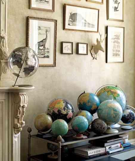 Decorar con bolas del mundo decoraci n de interiores - Bolas de decoracion ...