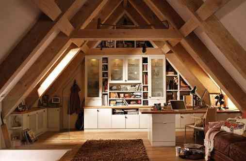 las buhardillas suelen ser habitaciones con una pared inclinada y una ventana en ella que est en el techo estas habitaciones tienen mucho encanto y - Buhardillas Con Encanto