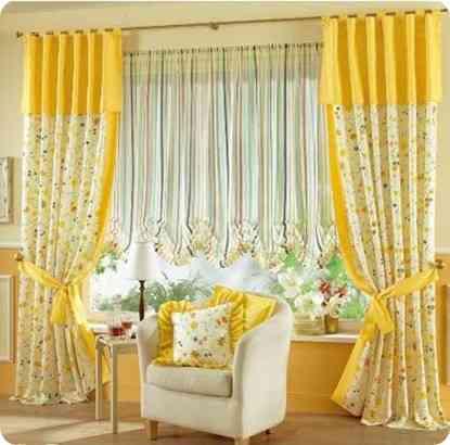 Disenos de cortinas para casas   La casa es el mejor ingeniero en