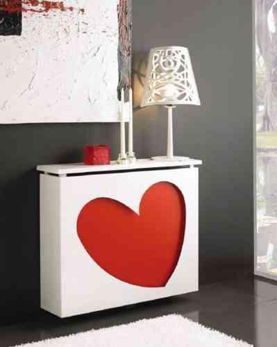 Dise o y calefacci n van de la mano decoraci n de - Muebles para cubrir radiadores ...