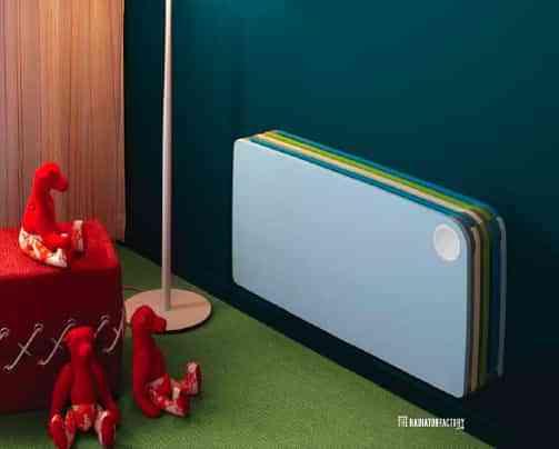Radiadores de colores para niños 3