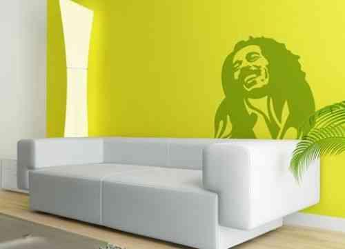 Bob marley en tu pared decoraci n de interiores opendeco - Vinilo bob marley ...