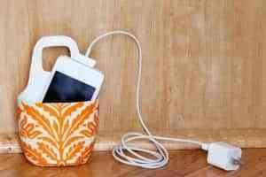 DIY: Una cesta para cargar el móvil 1