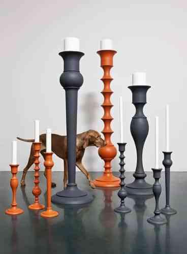 Holy, candelabros de Anki Gneib 1