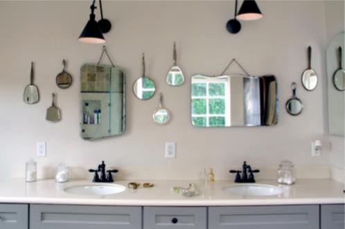Decorar el ba o con espejos decoraci n de interiores for Decorar espejos de bano