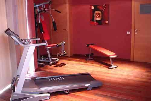 Gimnasio en casa buen ambiente para estar en forma decoraci n de interiores opendeco - Decoracion de gimnasios ...