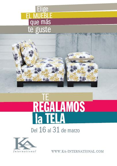 Ka international te regala el tapizado de los muebles - Ka international decoracion ...