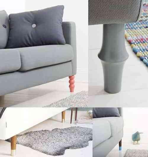 Ponle Patas A Tu Sofa De Ikea Decoracion De Interiores Opendeco