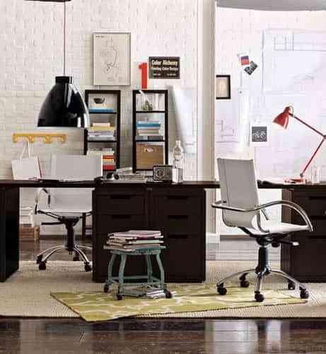 Una sencilla oficina en casa 1