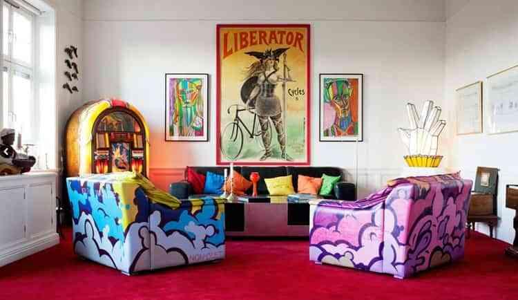Decorar con poster vintage - Decoración de Interiores | Opendeco