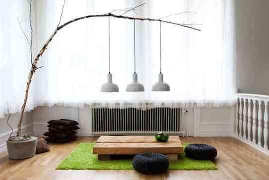 DIY: lámparas con ramas 1