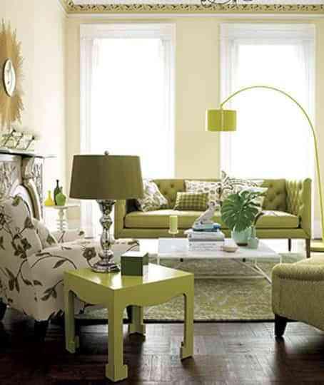 Ideas para decorar en verde 2