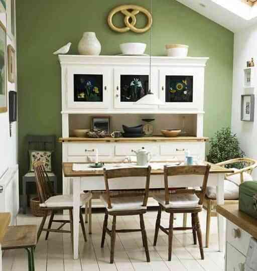Ideas para decorar en verde 4