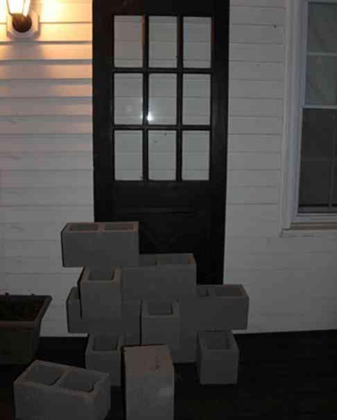 Diy decorar un porche reciclando blog totpint portal - Decorar pared porche ...
