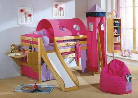 Habitaciones infantiles: diversión en la cama - Decoración de ...