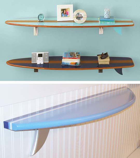 Decoraci n surf decoraci n de interiores opendeco - Tabla surf decoracion ...