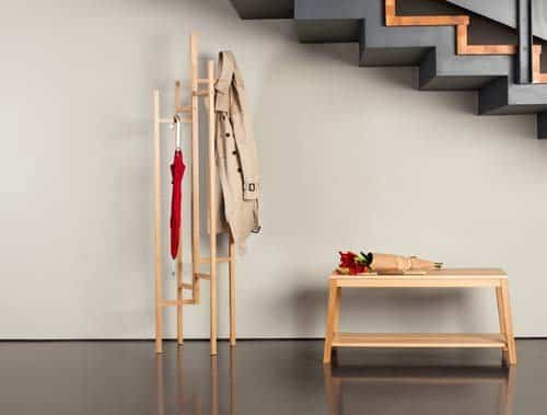 Un perchero minimalista 2