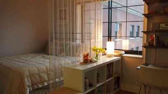 Cortinas una buena idea para separar espacios for Cortinas para separar ambientes