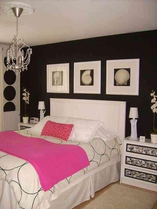 Blanco negro y fucsia decoraci n de interiores - Cocina blanca y fucsia ...