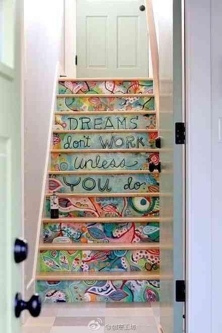 Graffiti en las escaleras 1