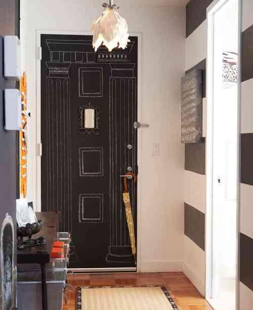 Original idea para una puerta de entrada 1