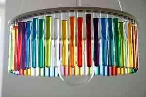 Lámparas con tubos de ensayo 1
