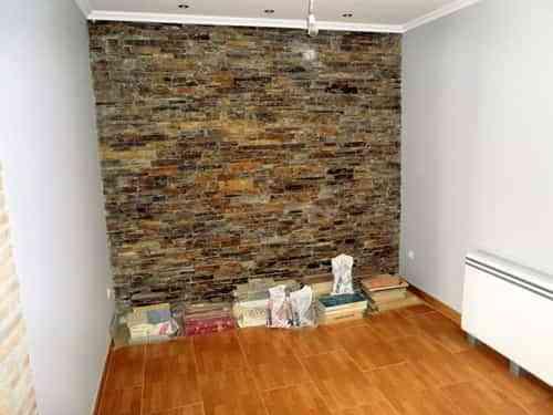 Reviste tu pared con piedra natural blogtotpint ideas for Piedra natural para paredes interiores
