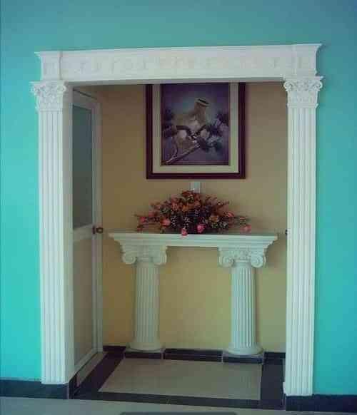 Embellece con molduras puertas y accesos decoraci n de interiores opendeco - Molduras para puertas ...