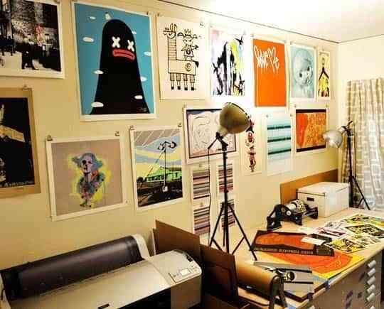 Llena de color tu oficina en casa 5