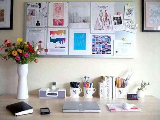 Llena de color tu oficina en casa 6