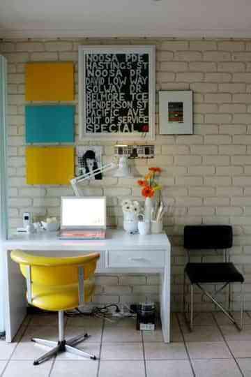 Llena de color tu oficina en casa 1