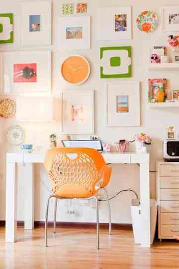 Llena de color tu oficina en casa 2