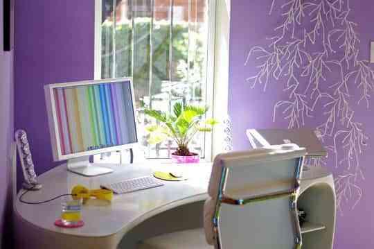 Llena de color tu oficina en casa 3