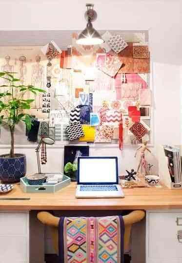 Llena de color tu oficina en casa 4