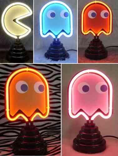 Lámparas comecocos 1