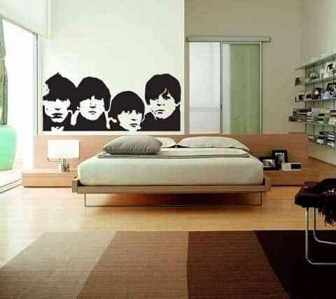 Decoración Beatles 1
