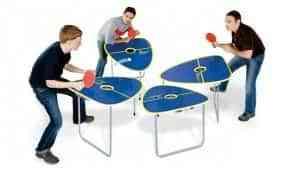 Una original mesa de ping pong 1