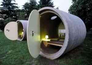 Durmiendo en un tubo de hormigón 1