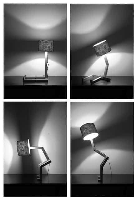 Una lámpara que se mueve 2