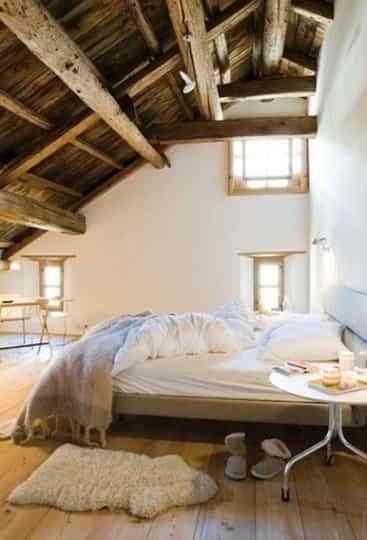 Habitaciones r sticas con estilo moderno decoraci n de - Decoracion dormitorio rustico ...
