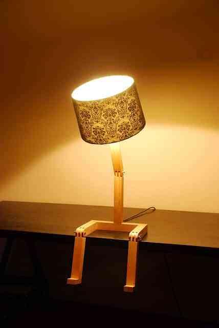 Una lámpara que se mueve 1