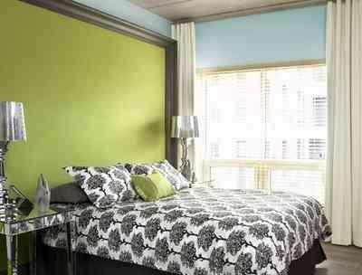 Habitaciones Verde Manzana Decoración De Interiores Opendeco