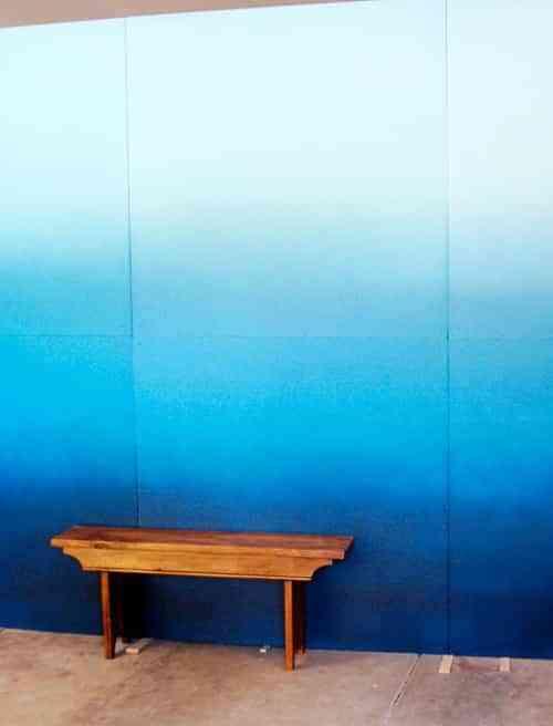 Degradado en paredes 1