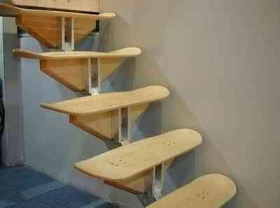 Decora con tablas de skate 1