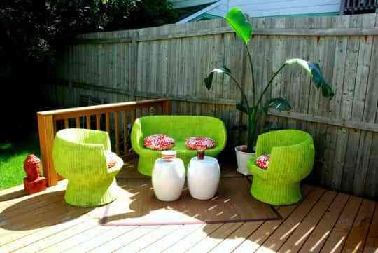 ¿Un patio exterior viejo? Ideas para darle un nuevo estilo 1